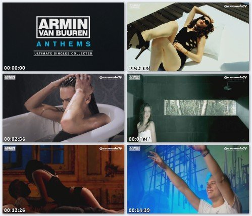 Armin Van Buuren - Armin Anthems Music Video Mega Mix