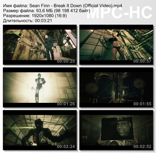 Sean Finn - Break It Down