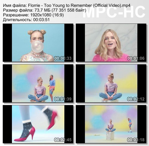 Florrie - Too Young to Remember