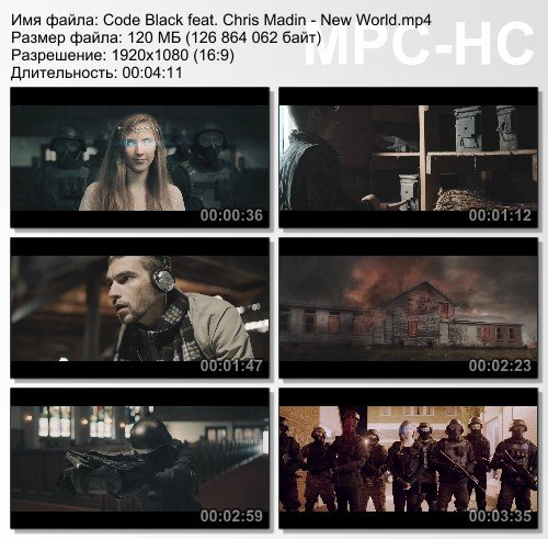 Code Black feat. Chris Madin - New World