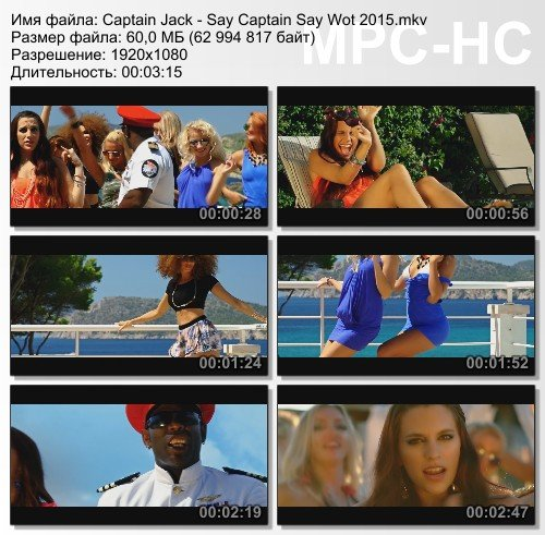 Captain Jack - Say Captain Say Wot