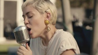 Miley Cyrus ft. Joan Jett - Different