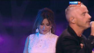 Эрос Рамазотти, Ани Лорак - Piu Che Puoi (Live, Новая Волна 2015)