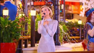 Полина Гагарина - Миллион голосов ( Live, Новогодняя ночь на первом 2016)