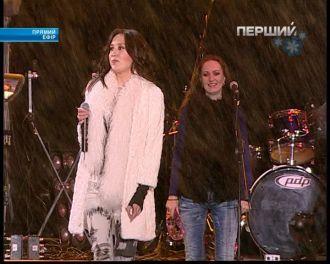 Алена Винницкая - День Соборности и Свободы Украины (Live 22.01.2012)