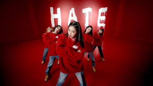 4MINUTE - Hate