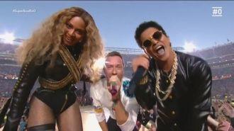 Coldplay, Beyoncé & Bruno Mars - Halftime Show - Super Bowl 50