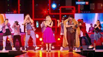 Дискотека Авария - Девушка за рулём (Live, Песня Года, 2015)