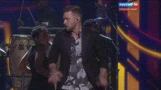 Justin Timberlake  - Can´t Stop the Feeling (Live, Eurovision 2016 )