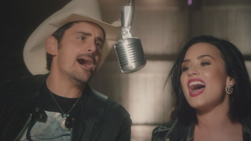 Brad Paisley ft. Demi Lovato - Without a Fight