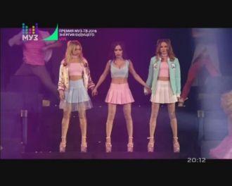 Серебро - Отпусти Меня (Live, Премия МУЗ-ТВ 2016)
