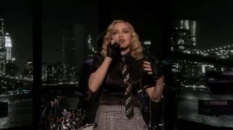 Madonna - Borderline (Live @ The Tonight Show Starring Jimmy Fallon)
