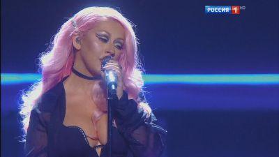 Christina Aguilera - Попурри (Live, Российская национальная музыкальная премия 2016)