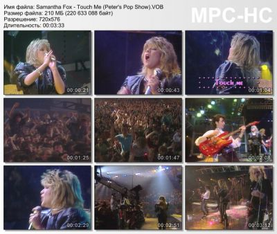 Samantha Fox - Touch Me (Live. Peter's Pop Show)