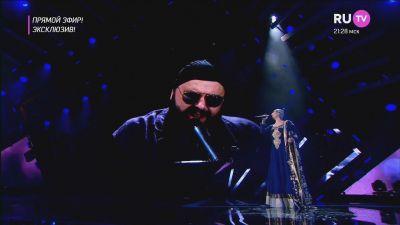 Наргиз feat. Максим Фадеев - Вдвоём ( Live, Премия RU TV 2017)