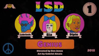 LSD ft. Sia, Diplo, Labrinth - Genius