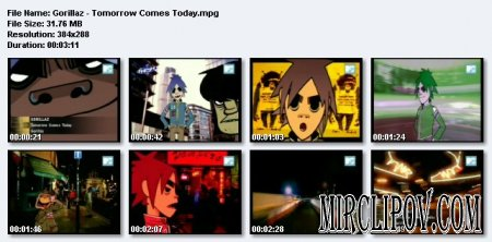 Gorillaz - Tomorrow Comes Today