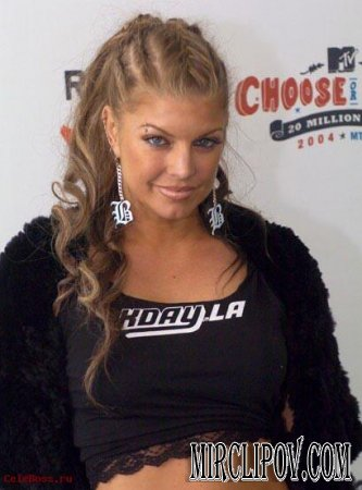 Fergie - Big Girls Don't Cry American Idol HDTV (2007)